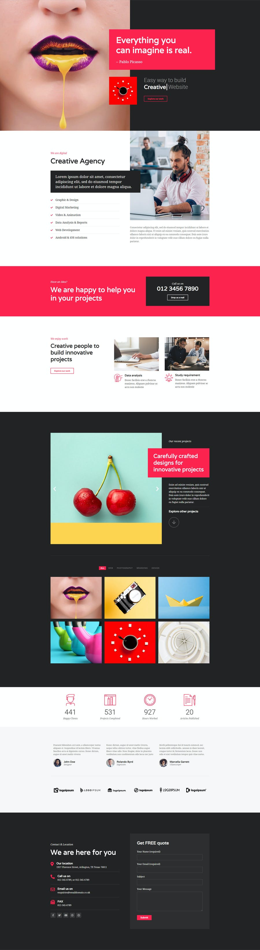 Mont - Agency Template kit - 0