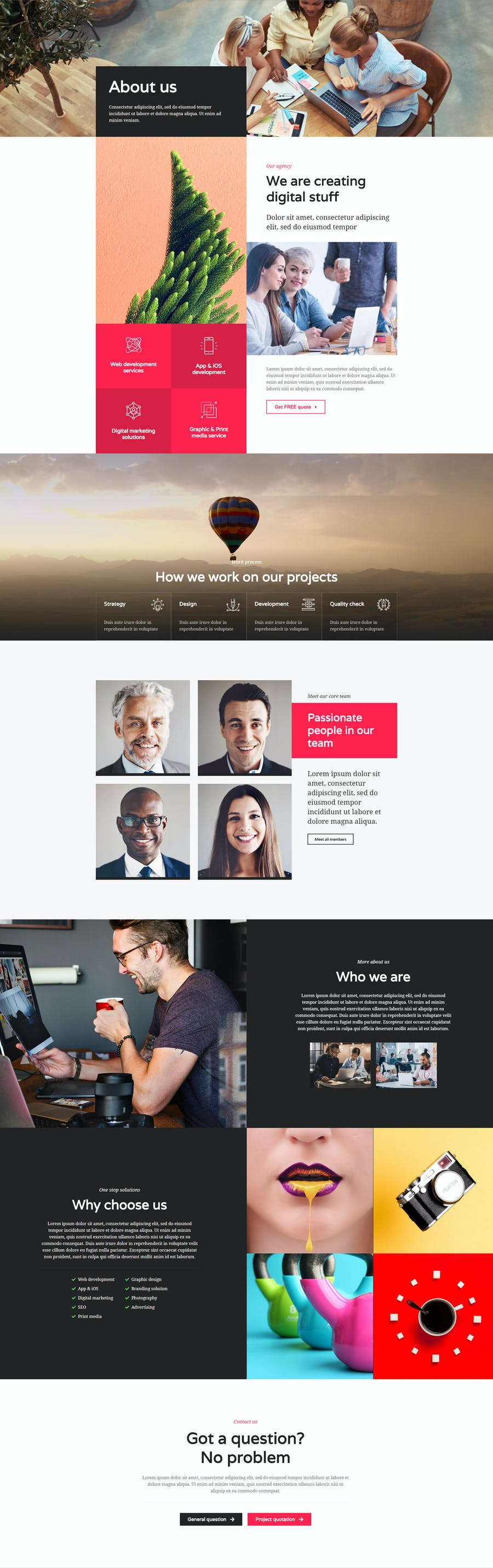 Mont - Agency Template kit - 2