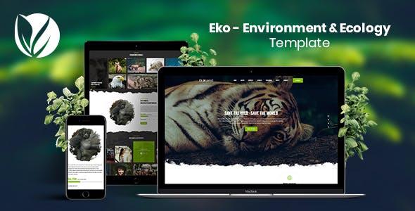 Eko - Environment & Ecology Template Kit - 0
