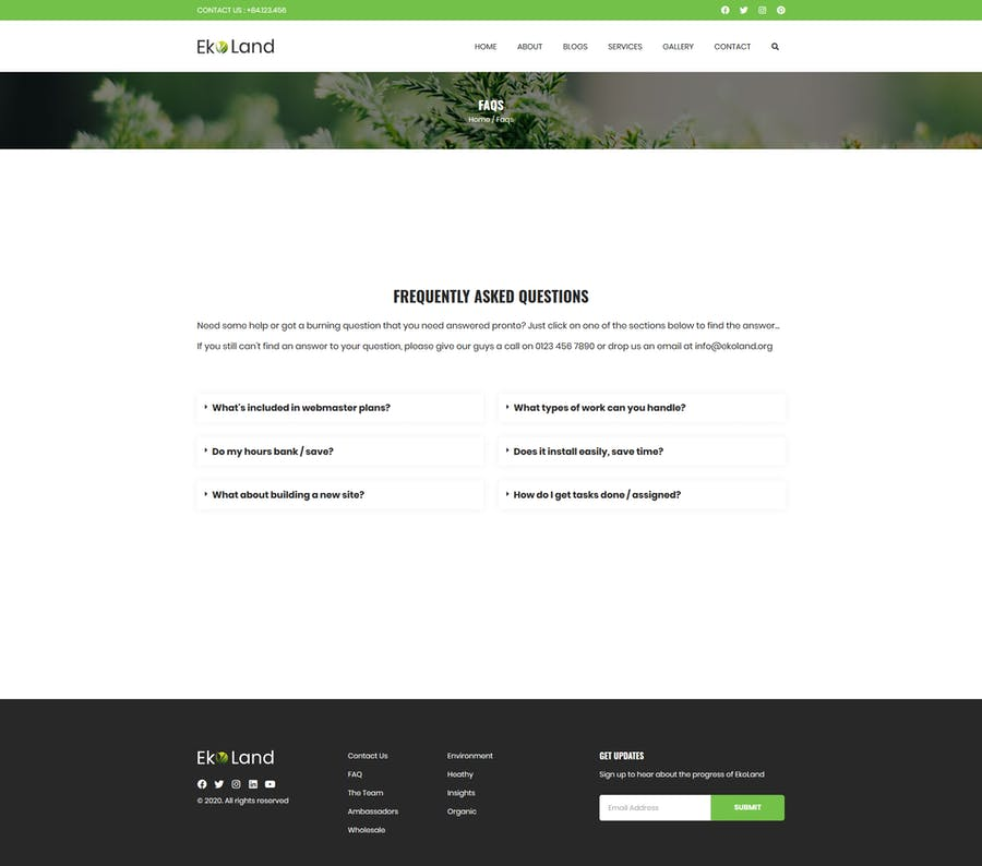 Eko - Environment & Ecology Template Kit - 1
