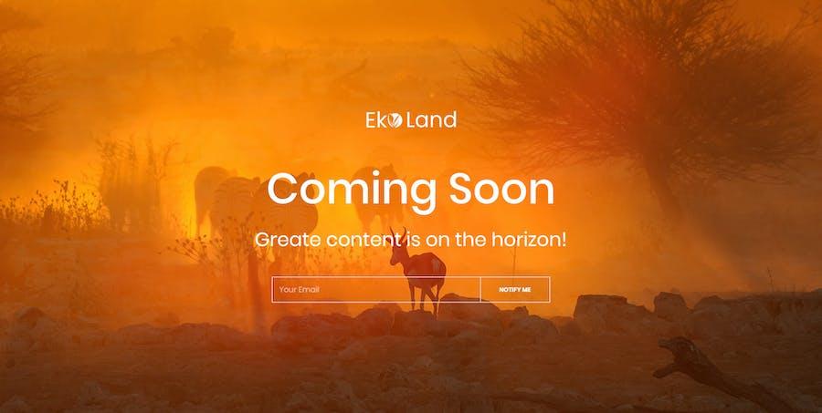 Eko - Environment & Ecology Template Kit - 3