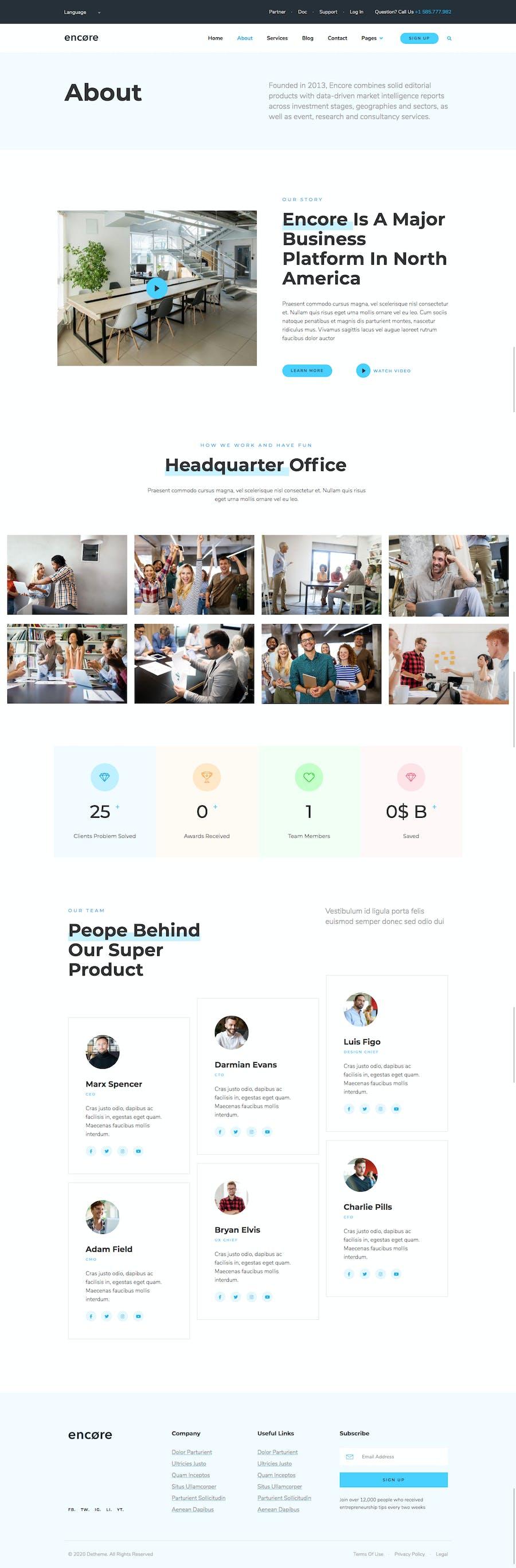 Encore - Multi-purpose Business Template Kit - 1