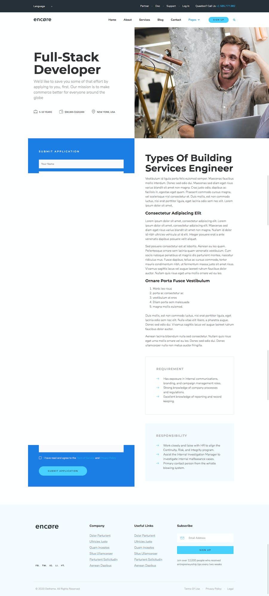 Encore - Multi-purpose Business Template Kit - 3