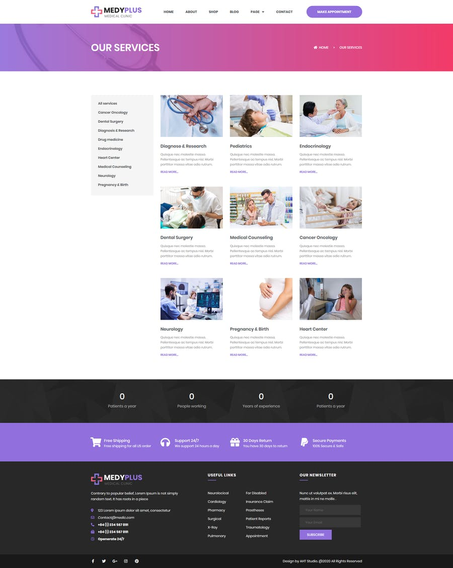 Medyplus - Medical, Clinic Template Kit - 2