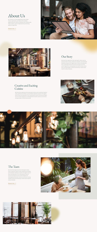 The Restaurant - Elementor Template Kit - 2